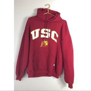 USC Russell Hooded Sweatshirt XL